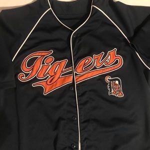 Detroit tigers baseball 1995 mlb jersey size L